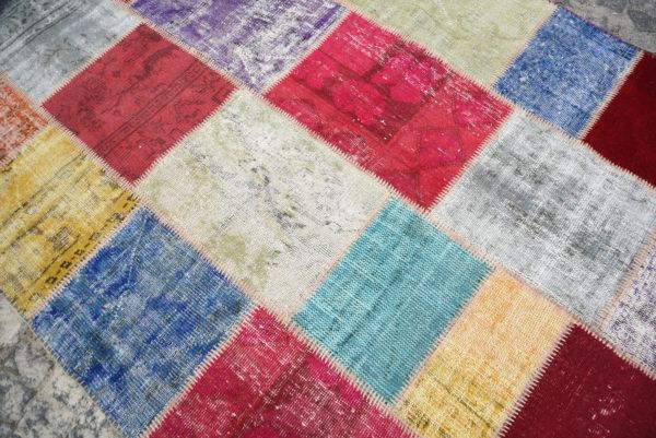 Vintage Patchwork Rug TR10654 Image 5