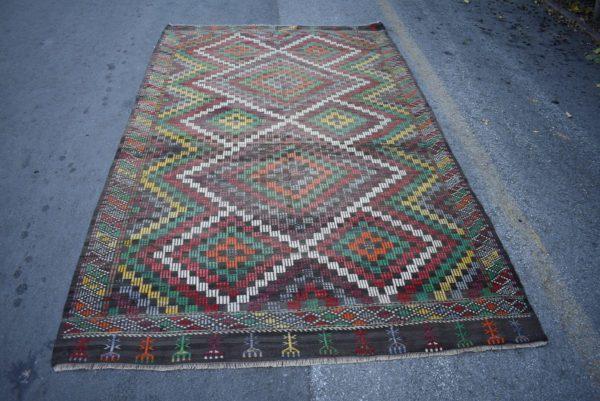 Vintage Kilim Rug TR14602 Image 1