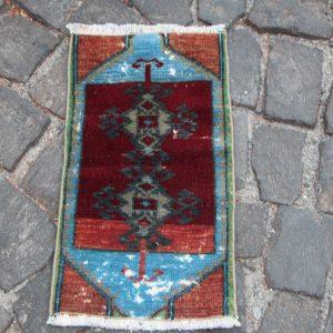 Vintage Turkish Rug TR29615 Image 1