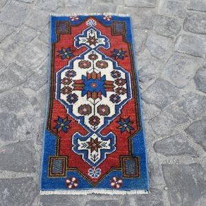 1.2 ft. x 2.9 ft. Vintage Turkish Rug TR91570 Image 1