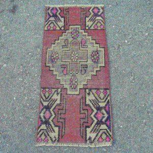 1.2 ft. x 2.8 ft. Vintage Turkish Rug TR31155 Image 1