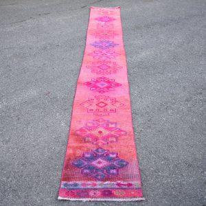 1.5 ft. x 12.2 ft. Vintage Turkish Rug TR40415 Image 1