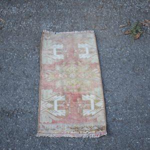 1 ft. x 2.6 ft. Vintage Turkish Rug TR41985 Image 1