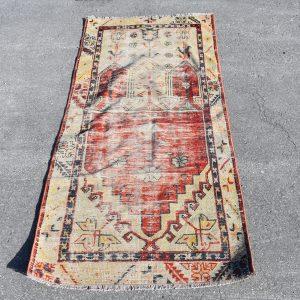 2.3 ft. x 5.4 ft. Vintage Turkish Rug TR42455 Image 1