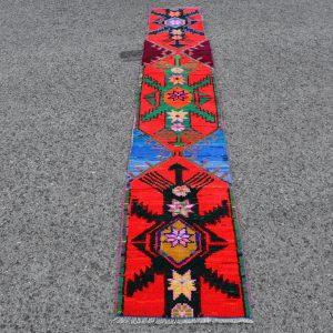 1.5 ft. x 8.8 ft. Vintage Turkish Rug TR45695 Image 1