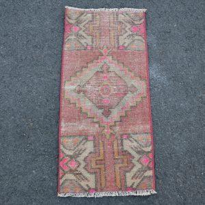 1.2 ft. x 2.7 ft. Vintage Turkish Rug TR46255 Image 1