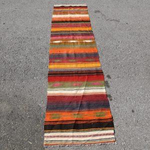 1.9 ft. x 7.6 ft. Vintage Kilim Rug TR46332 Image 1