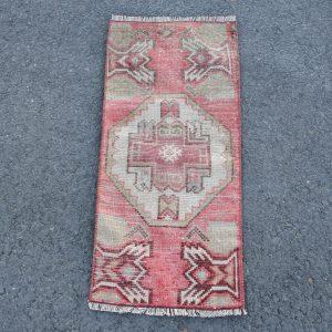 1.2 ft. x 2.8 ft. Vintage Turkish Rug TR46335 Image 1
