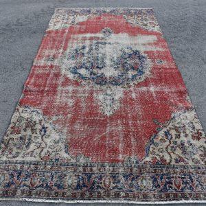 5 ft. x 10.2 ft. Vintage Turkish Rug TR46815 Image 1
