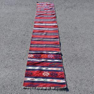1.7 ft. x 9.7 ft. Vintage Kilim Rug TR49042 Image 1