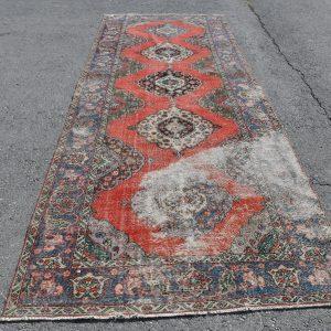4.8 ft. x 13.2 ft. Vintage Turkish Rug TR49235 Image 1