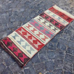 1.8 ft. x 4.8 ft. Vintage Kilim Rug TR10602 Image 1
