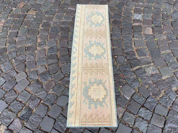 1.4 ft. x 5 ft. Vintage Patchwork Rug TR17094 Image 4