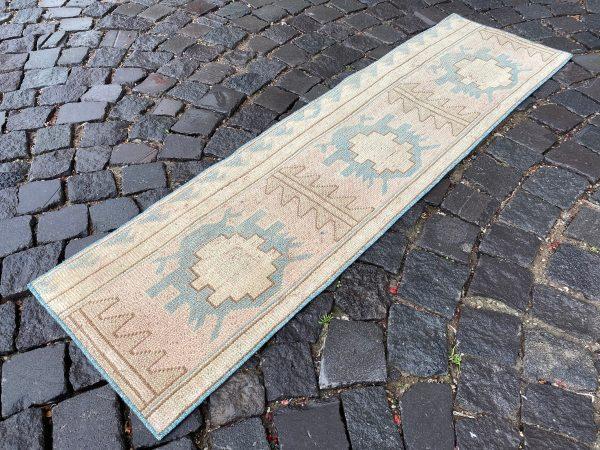 1.4 ft. x 5 ft. Vintage Patchwork Rug TR17094 Image 1