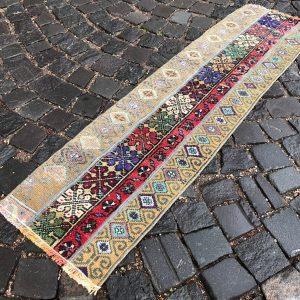 1.3 ft. x 4.9 ft. Vintage Patchwork Rug TR17444 Image 1