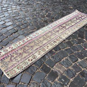 1.5 ft. x 6.5 ft. Vintage Patchwork Rug TR17664 Image 1