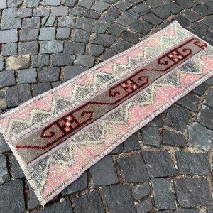 1.3 ft. x 3.7 ft. Vintage Patchwork Rug TR17684 Image 1