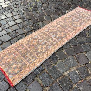 1.4 ft. x 5.2 ft. Vintage Patchwork Rug TR17704 Image 1