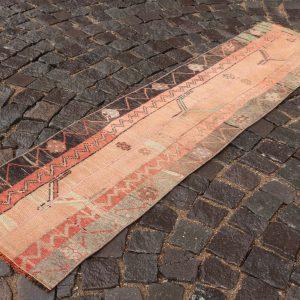 1.6 ft. x 6.3 ft. Vintage Patchwork Rug TR17724 Image 1