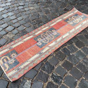1.6 ft. x 5.3 ft. Vintage Patchwork Rug TR17914 Image 1