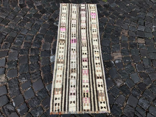 1.8 ft. x 5.2 ft. Vintage Kilim Rug TR49542 Image 3