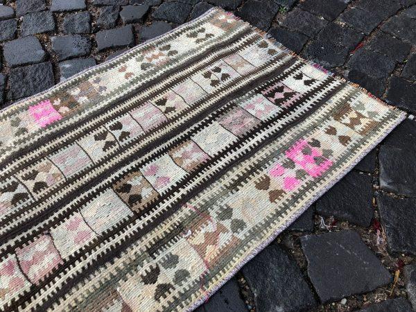 1.8 ft. x 5.2 ft. Vintage Kilim Rug TR49542 Image 6