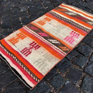 1.8 ft. x 3.4 ft. Vintage Kilim Rug TR49652 Image 1