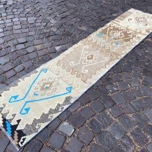1.9 ft. x 8.7 ft. Vintage Kilim Rug TR49682 Image 1