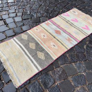 1.8 ft. x 4.3 ft. Vintage Kilim Rug TR49742 Image 1