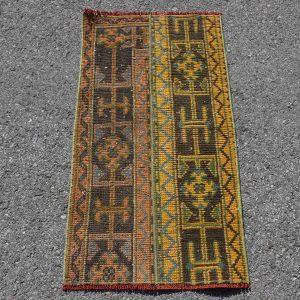 1.6 ft. x 3.2 ft. Vintage Patchwork Rug TR19234 Image 1