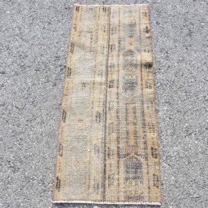 1.5 ft. x 3.6 ft. Vintage Patchwork Rug TR19254 Image 1