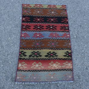 1.7 ft. x 3 ft. Vintage Kilim Rug TR51412 Image 1