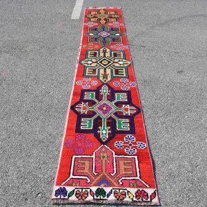 2 ft. x 11.8 ft. Vintage Turkish Rug TR69525 Image 1