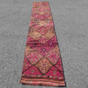 2 ft. x 11.6 ft. Vintage Turkish Rug TR69575 Image 1