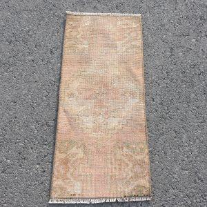 1.1 ft. x 2.8 ft. Vintage Turkish Rug TR71725 Image 1