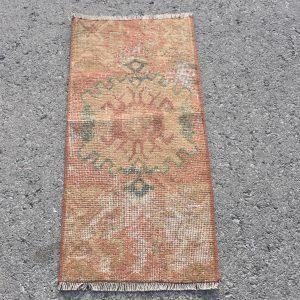 1.2 ft. x 2.5 ft. Vintage Turkish Rug TR71875 Image 1