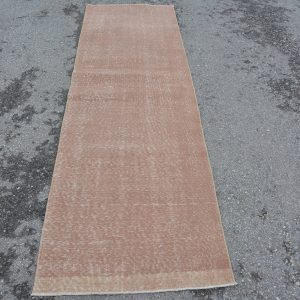 2.5 ft. x 8 ft. Vintage Overdyed Rug TR23373 Image 1
