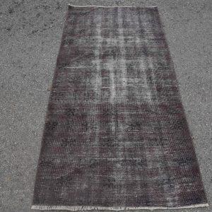 3.1 ft. x 6.4 ft. Vintage Overdyed Rug TR23883 Image 1