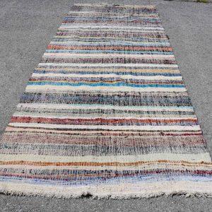 5 ft. x 11.3 ft. Vintage Kilim Rug TR52262 Image 1