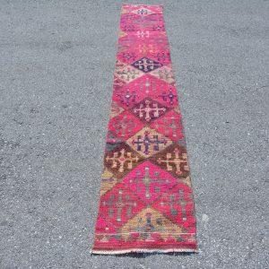 1.6 ft. x 11.1 ft. Vintage Turkish Rug TR81335 Image 1
