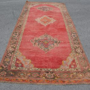 5 ft. x 11.6 ft. Vintage Turkish Rug TR83505 Image 1