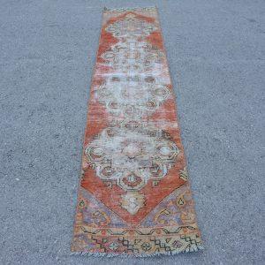 1.9 ft. x 9.6 ft. Vintage Turkish Rug TR84575 Image 1