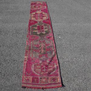 1.9 ft. x 10.6 ft. Vintage Turkish Rug TR92745 Image 1