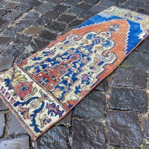 1.1 ft. x 3 ft. Vintage Turkish Rug TR96165 Image 1