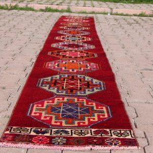 1.6 ft. x 11.2 ft. Vintage Turkish Rug TR03716 Image 1