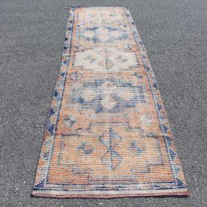 3 ft. x 10.6 ft. Vintage Turkish Rug TR04326 Image 1