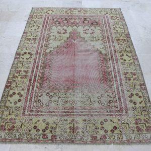 4.1 ft. x 6.4 ft. Vintage Turkish Rug TR04466 Image 1