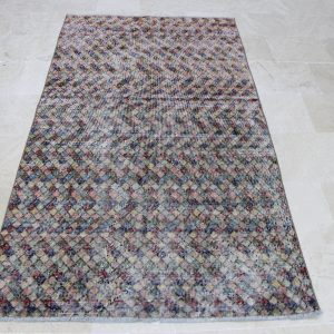 3.6 ft. x 6.6 ft. Vintage Turkish Rug TR04646 Image 1