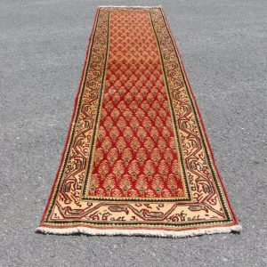 3.1 ft. x 12.9 ft. Vintage Turkish Rug TR04896 Image 1