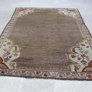 6.4 ft. x 9 ft. Vintage Turkish Rug TR05006 Image 1
